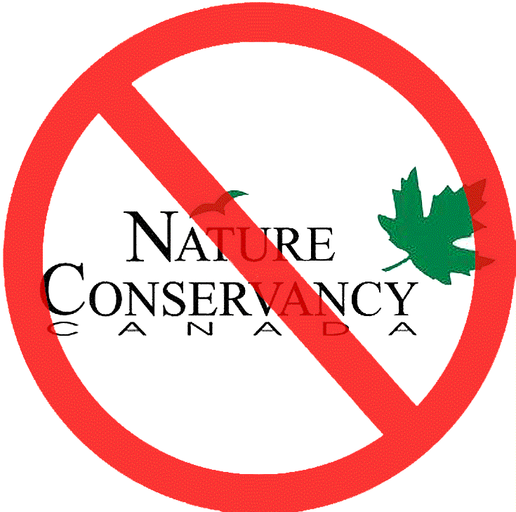No to the Nature Conservancy of Canada